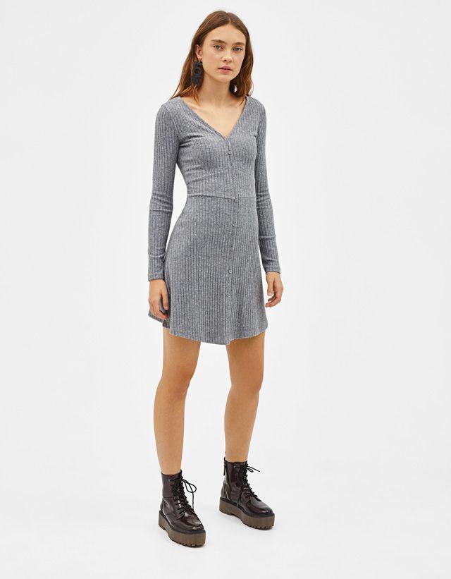 13108f2a7461 Dresses - COLLECTION - WOMEN - Bershka United States   stirring my ...