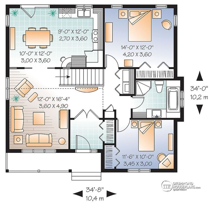 1112 best For the home- house plans images on Pinterest | Small home ...