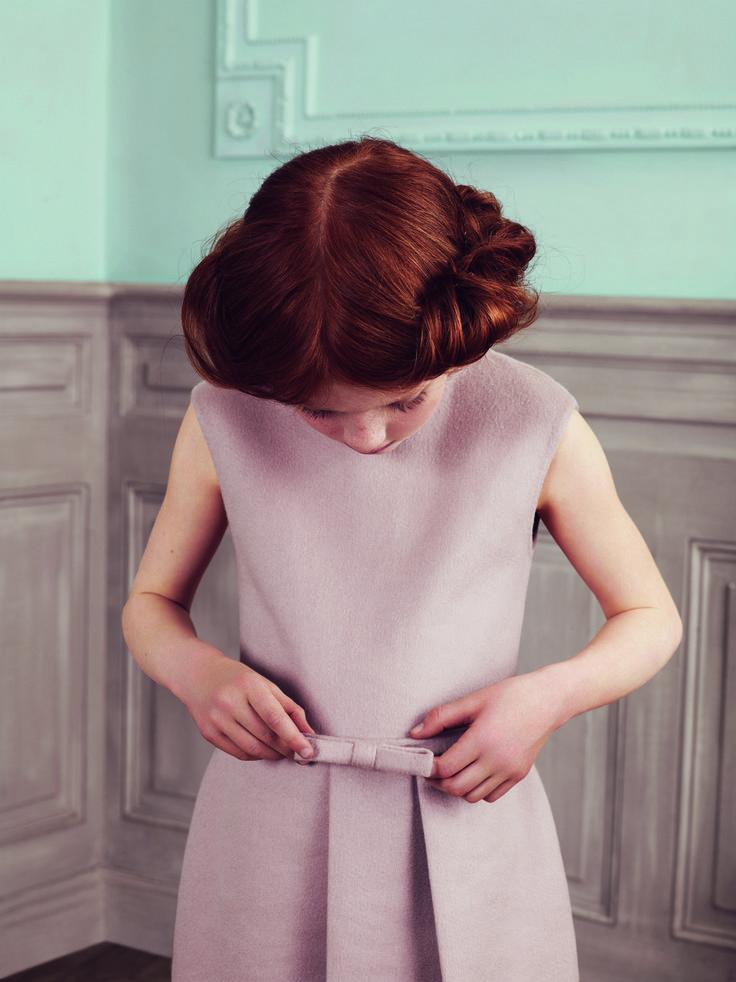 La poésie Dior/  Baby Dior collection automne-hiver 2013