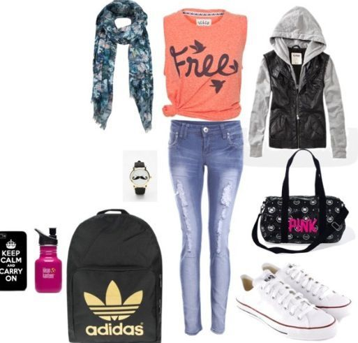 Cool Clothes For Teenage Girls Back to school outfit ideas... Check more at http://24shopping.tk/fashion-clothes/clothes-for-teenage-girls-back-to-school-outfit-ideas/