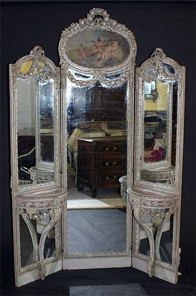 Mirrored Dressing screen