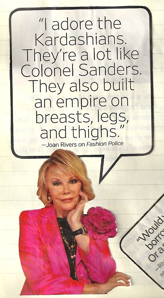 Joan Rivers #Joan_Rivers #Joan_Rivers_Jokes #Joan_Rivers_Quotes