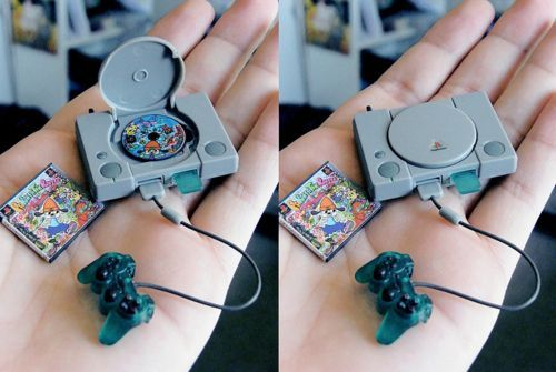 Tiny Playstation | 58 Very Tiny Cute Things