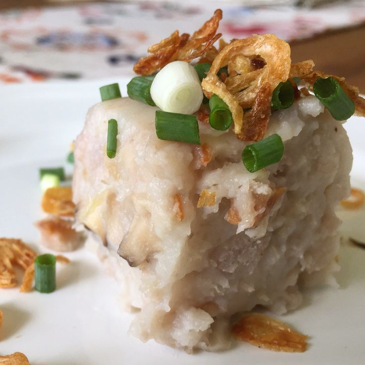 Steamed Chinese Yam Cake
