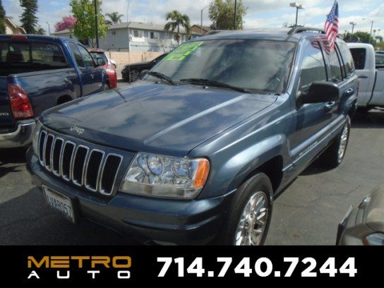 Sport Utility, 2002 Jeep Grand Cherokee Limited with 4 Door in La Habra, CA (90631)
