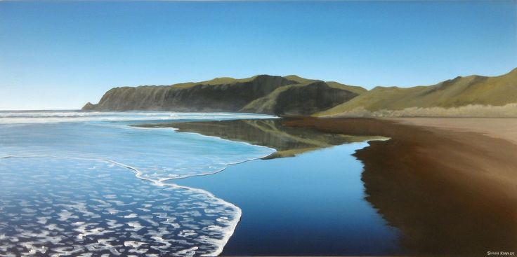 Artist Shaun Ryan - just beautiful, New Zealand landscapes in acrylics - also videos on You Tube
