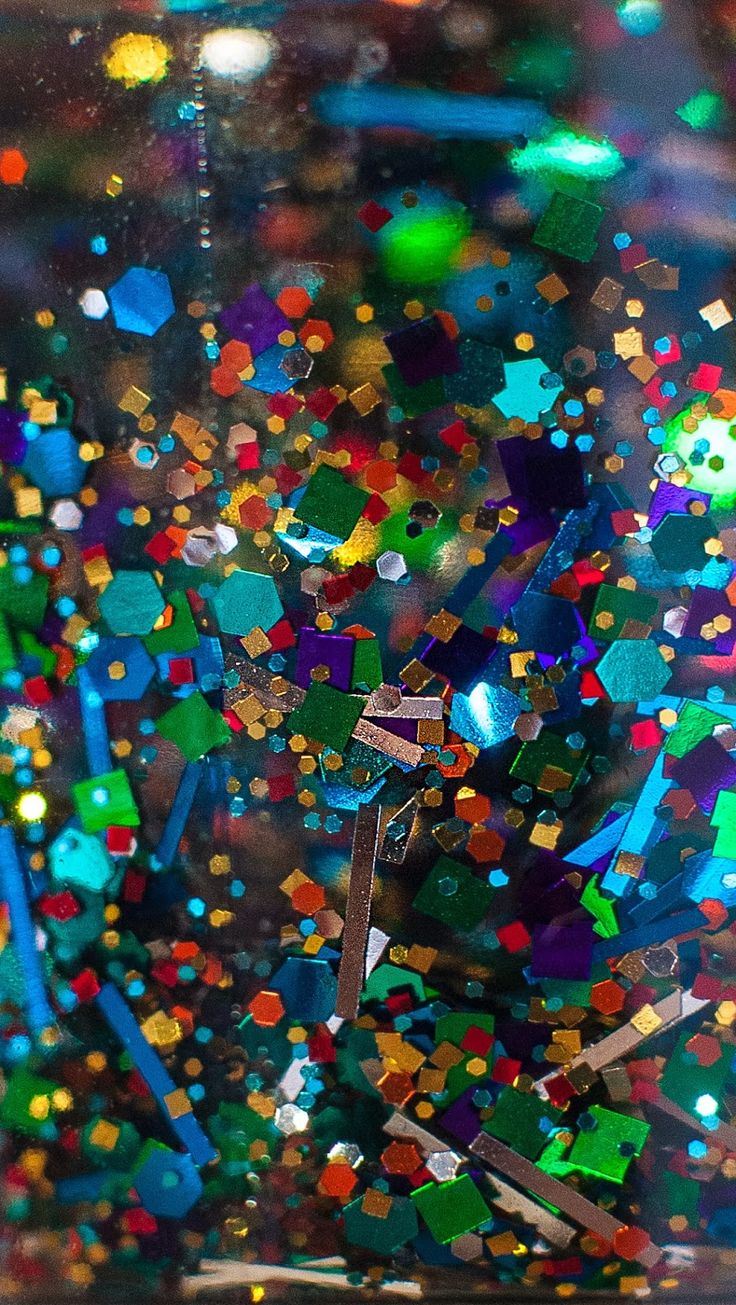 KBShimmer, Sea You Around, Innisfree, OPI, I Snow You Love Me, When Monkeys Fly, Lights Of Emerald City, I Got A Crush On Blue, Platinum, iphone, wallpapers, macro, glitter, nail polish, inpoison, Glitter, Sparkle, iphone wallpaper