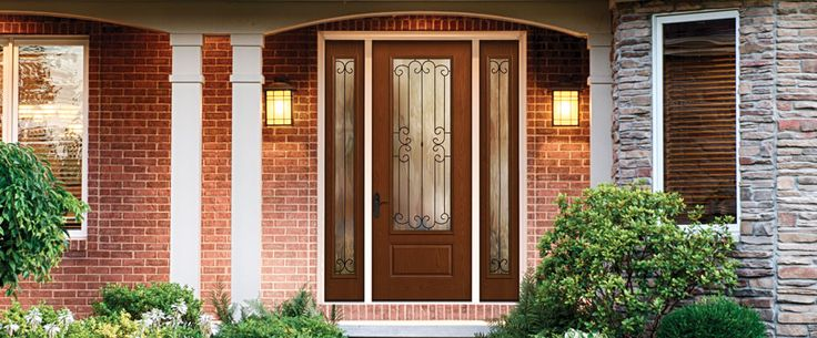 7 best home improvements images on pinterest cleaning for Therma tru fiber classic mahogany price