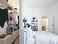 20 Quartos com Closet - Veja Dicas e Ideias!