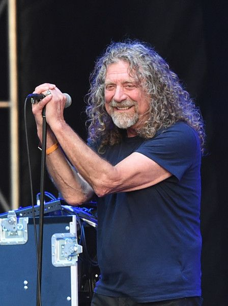 Robert Plant Photos - Musician Robert Plant & The Sensational Space Shifters perform onstage at Which Stage during Day 4 of the 2015 Bonnaroo Music And Arts Festival on June 14, 2015 in Manchester, Tennessee. - 2015 Bonnaroo Music & Arts Festival - Day 4