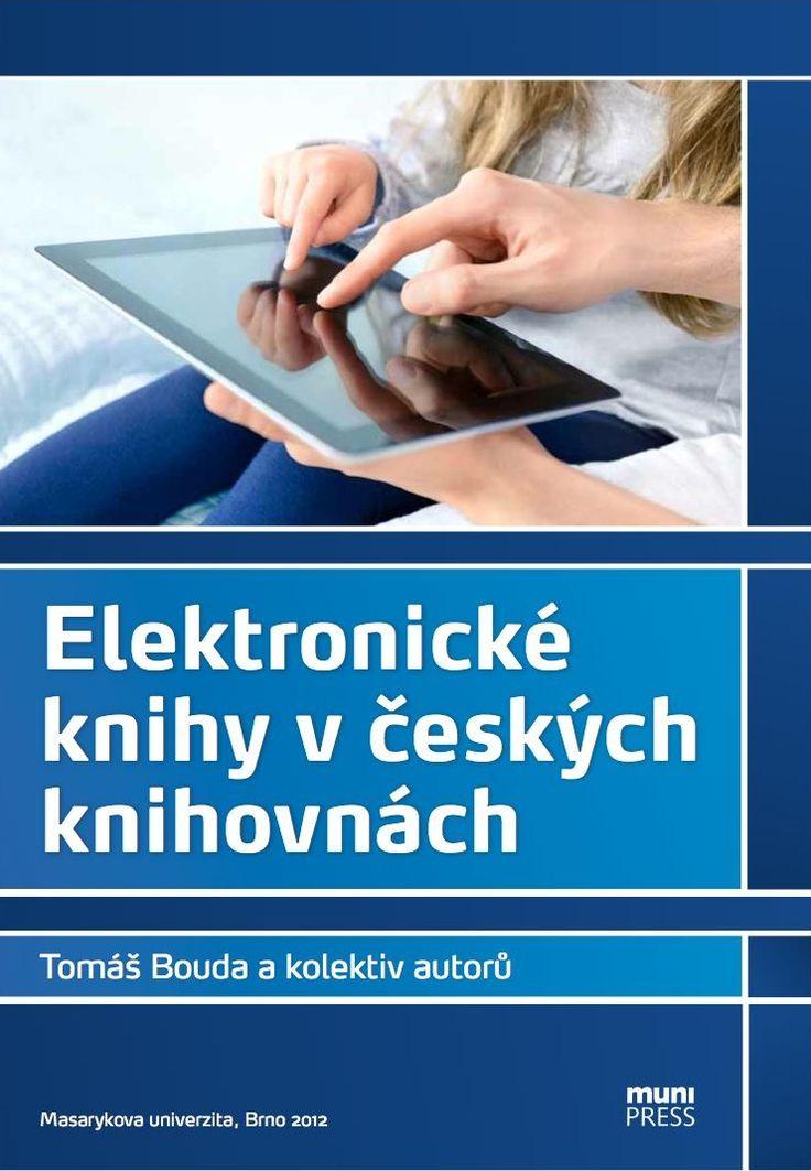 Přebal knihy Elektronické knihy v českých knihovnách
