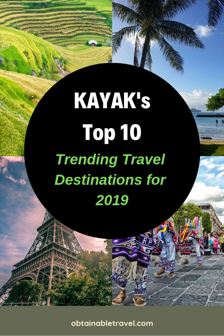 KAYAK Releases Their Top 10 Trending Destinations for 2019 – Obtainable Travel