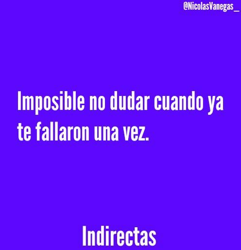 Imposible..