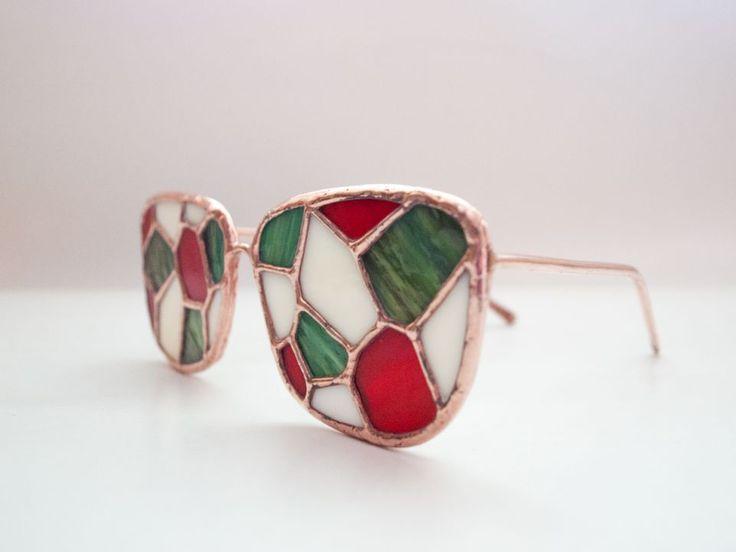 Ochelari Voronoi / obiect decorativ handmade