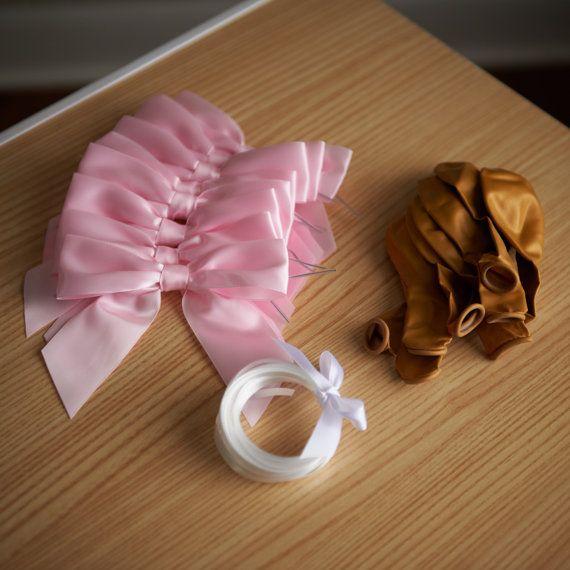 Decorazioni festa compleanno rosa e oro. di ConfettiMommaParty