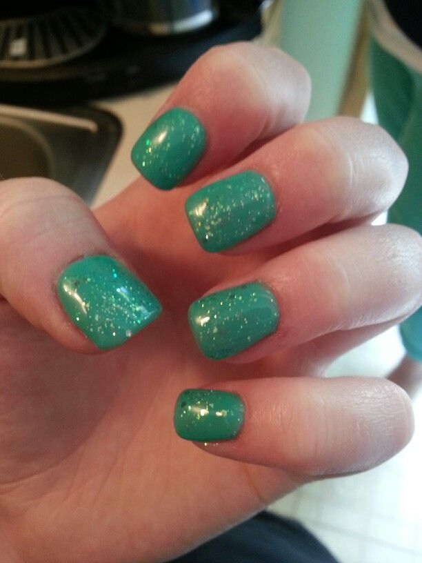 Acrylic gel polished nails! Love these | Nails