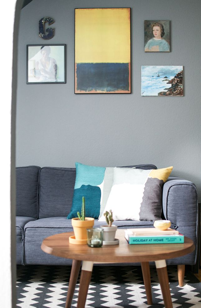Happy Interior Blog: Styling & Decorating A Small Apartment - Part 1