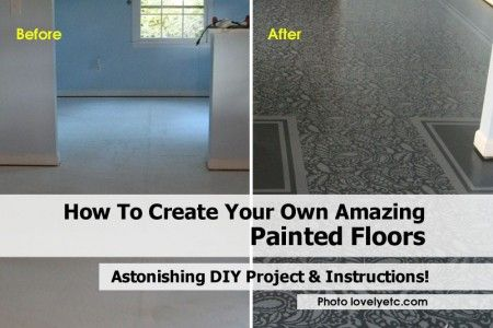 How To Create Your Own Amazing Painted Floors