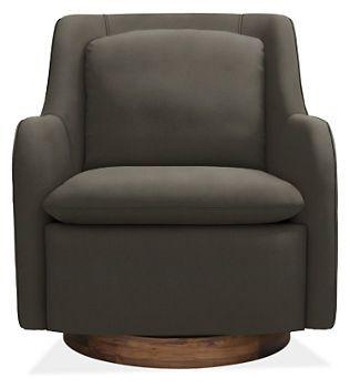 Hazel Swivel Chair - Chairs - Living - Room & Board