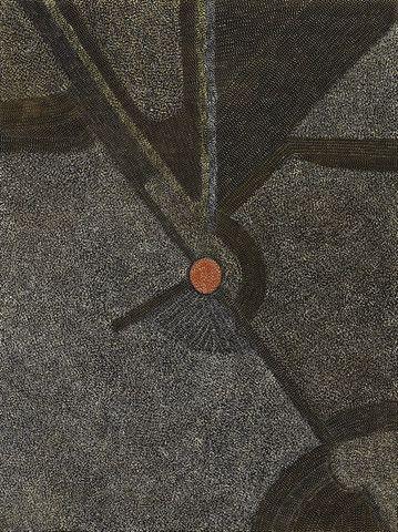 Painting 99D007, Abie Loy, 1999