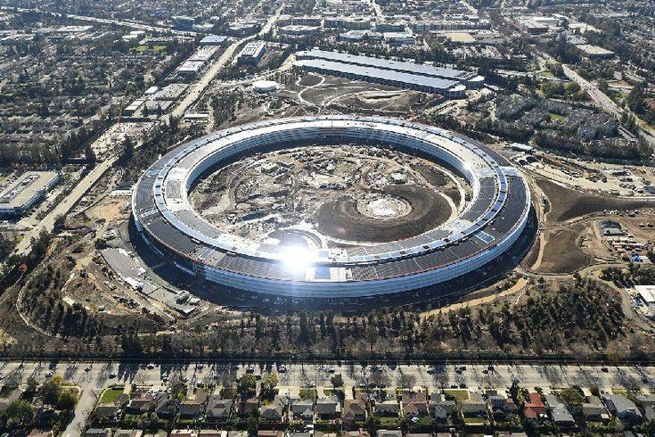 Dinding Kaca Kantor Baru Apple Membuat Karyawan Celaka