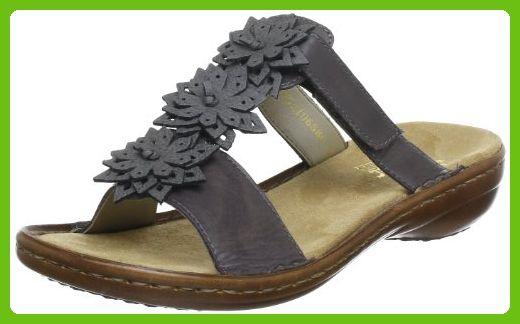Rieker Unisex Adult (Homme Ou Femme) Boots Klettschuhe Sympatex Amethyst Viol Gray LederSynthetik Snow Sneakers 36