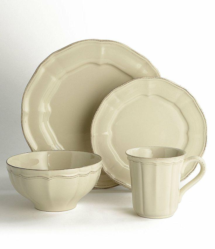 Noble Excellence Toscano Cream Dinnerware | Dillards.com  sc 1 st  Pinterest & 44 best Cream Dinnerware images on Pinterest | Dish sets Porcelain ...