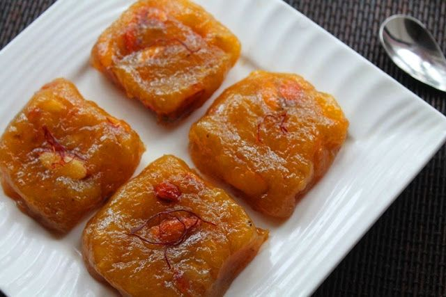 This is one dish which i came up with when i saw a ripe banana lying in my fruit bowl. Normally i would use them in some baking recipes. But this time i thought of making a quick easy halwa using it. Similar Recipes, Custard Powder Halwa Badam Halwa Kasi Halwa Cornflour Halwa Karachi Halwa...Read More