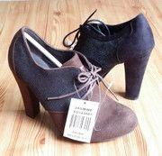 Американский экспорт торговли оригинальные одного туфли на высоком каблуке глубокий рот толстый с туфли на высоком каблуке кружевные туфли диких пружине SPECIALS