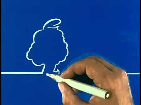 Watch La Linea, the Popular 1970s Italian Animations Drawn with a Single Line   Open Culture