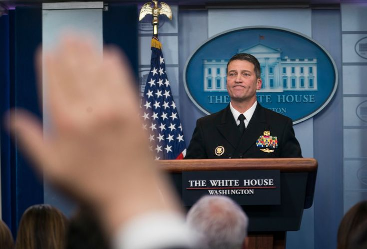 Ronny Jackson Trumps V.A. Nominee Faces Claims of Overprescription and Hostile Work Environment