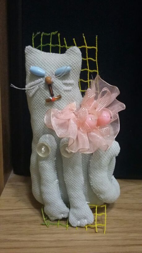 Check out this item in my Etsy shop https://www.etsy.com/ru/listing/277695658/attic-toy-art-soft-doll-recycled