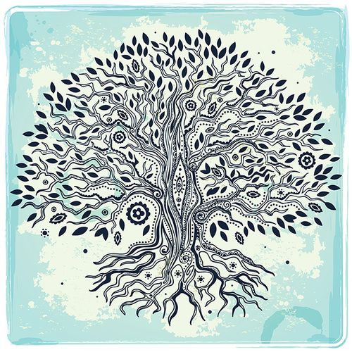Tree Of Life Ideal Size Of A 48: 33 Best Images About Tree Of Life Mandala Tattoo On
