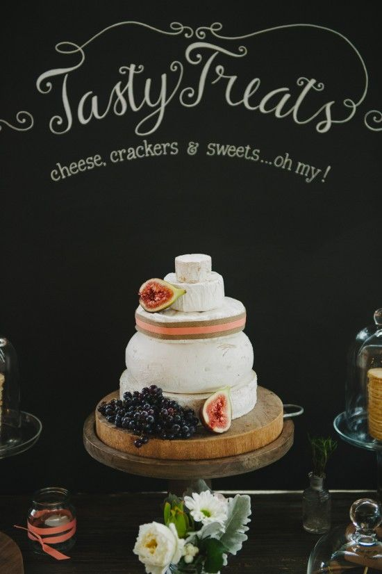 Cheese wedding cake ~ Bonnie Luke's Vintage Style Queensland Wedding ~ David Moore Photography