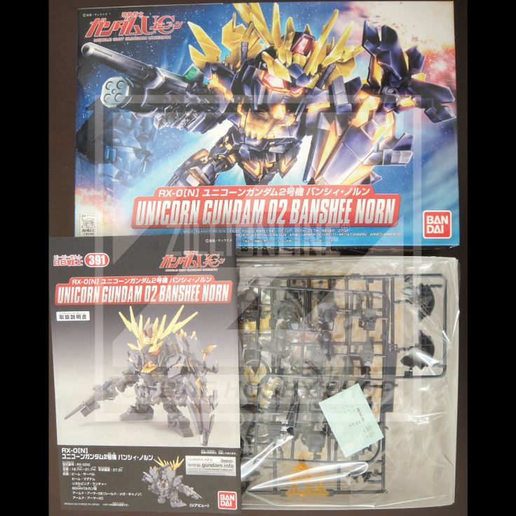 [MODEL-KIT] NON-SCALE SD BB - RX-0[N] UNICORN GUNDAM 02 BANSHEE NORN. Item Size/Weight : 31 x 20 x 5.7 cm / 259g. (*ITEM SIZE & WEIGHT BEFORE PACKAGED). Condition: MINT / NEW & SEALED RUNNER. Made by BANDAI.