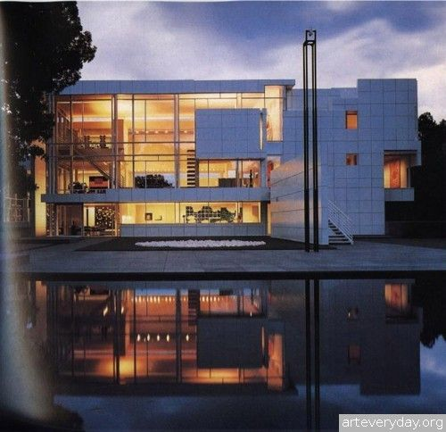 Richard_Meier_5 | Richard Meier - Ричард Мейер. Ведущий представитель американского авангарда. Книга содержит большое количество фотографий, представлены чертежи планов, фасадов и разрезов | ARTeveryday.org