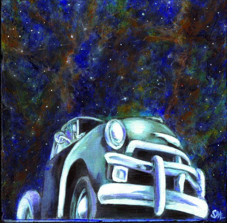 Under a Nebular Sky Simone Manley @Simbotic