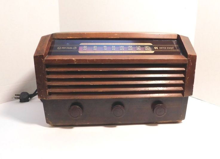 Vintage RCA Victor Radio Model 56X3 Parts Restoration Tube Radio USA #RCAVictor