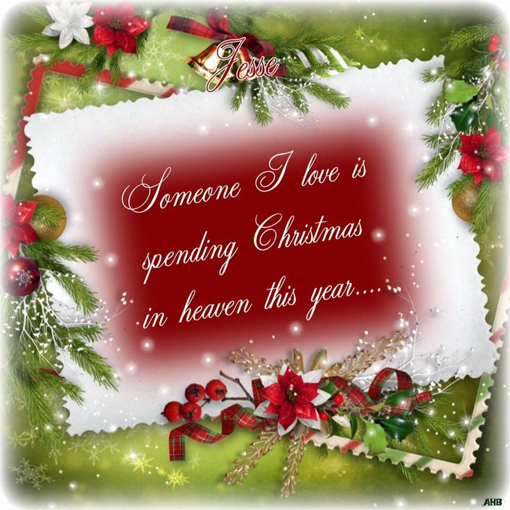 Mom's 1st Christmas in Heaven