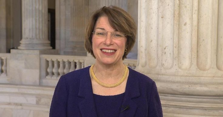 "Democratic senator Amy Klobuchar talks about Russian hacking efforts on CBSN's ""Red & Blue"""