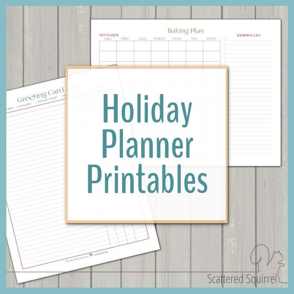 Best 25+ Free holiday planner printables ideas on Pinterest - holiday sign up sheet templates