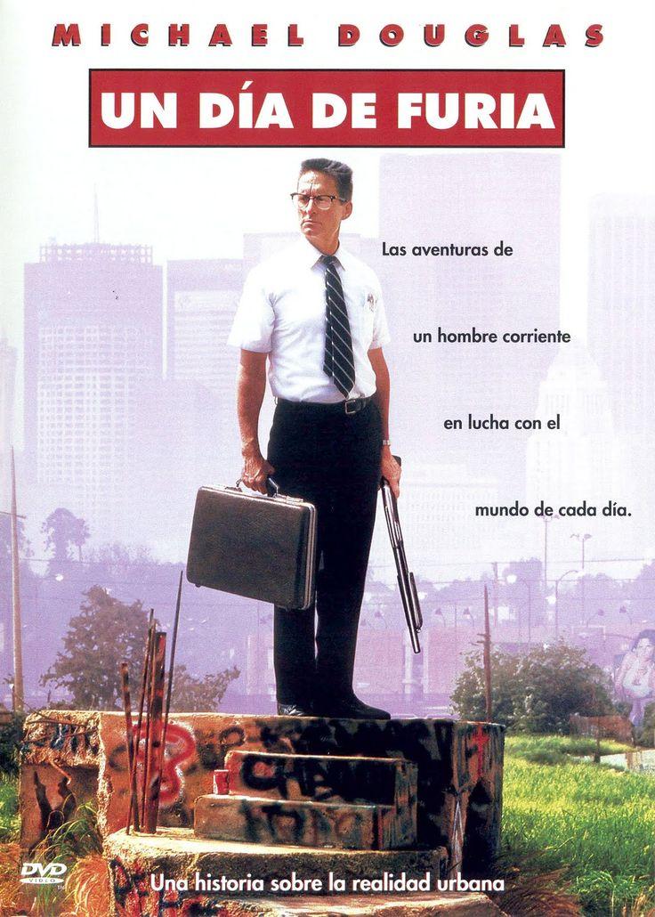 Un día de furia (1992) EEUU. Dir: Joel Schumacher. Drama. Thriller. Películas de culto - DVD CINE 1420