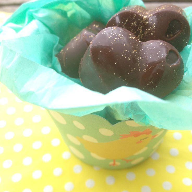 Rå chokolade mums