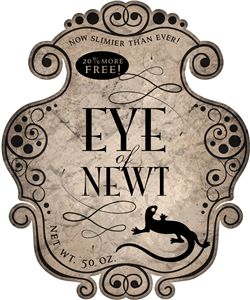 Silhouette Online Store - View Design #21269: eye of newt label