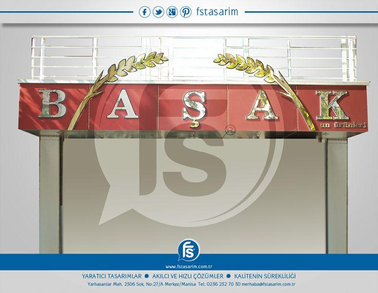 """""""Başak Ekmek Fırını"""" Tabela ve Reklam Kampanyaları için bizi tercih etti.. Teşekkürler... http://www.fstasarim.com.tr"""
