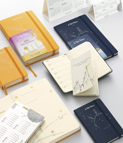 Moleskin monthly planner   2013 - 12 month Petit Prince Planners/Diaries