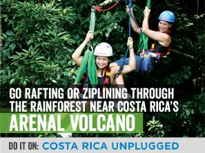 Zipline + rainforests  = a must do in Costa Rica.