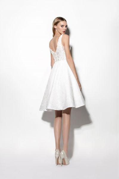 vestidos de novia cortos: los diseños más top. ¡atré… | vestidos de