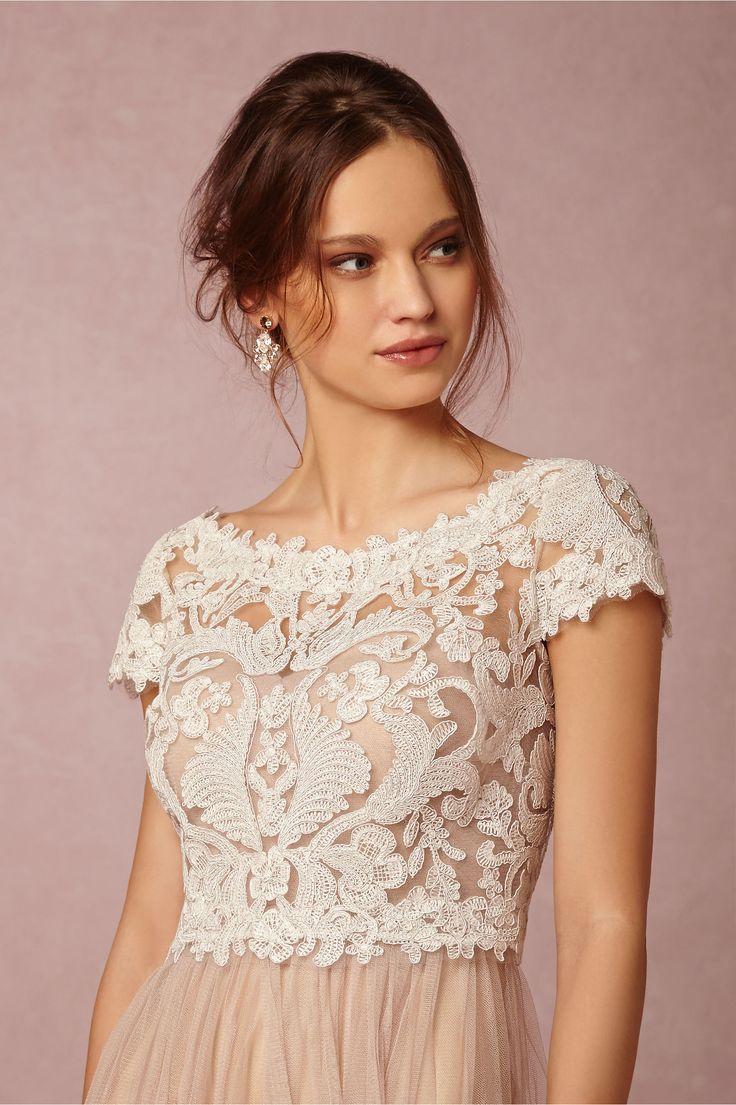 Bhldn Seville Topper In Bride Bridal Cover Ups At With Tulle Or Chiffon Skirt Dress