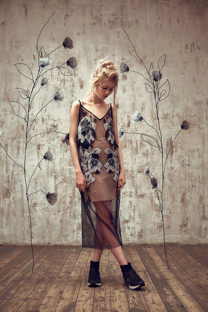 Photographer: Misha Metelkin Hair & mua: Misha Metelkin Designer: Olga Dynkina  Model: Natasha Kulakova    #olgadynkina #women #fashion #fashiondesigner #designer #lookbook #fashiongirl #bear #flowers #spring #купитьплатье #платье #art #artist #style #design #shopping #handmade #rusdesigners